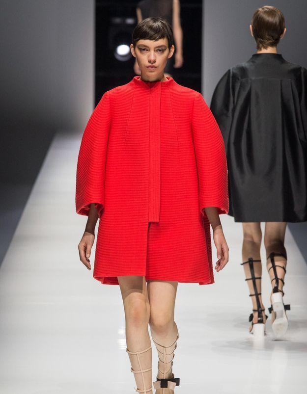 Fashion Week de Paris : L'élégance osée de Lanvin