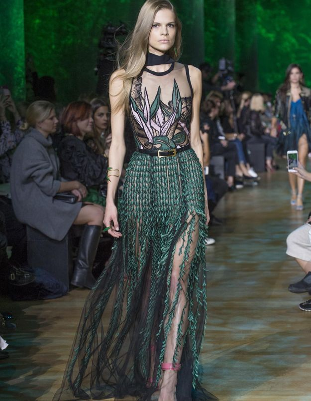 Fashion Week : La jungle sensuelle d'Elie Saab