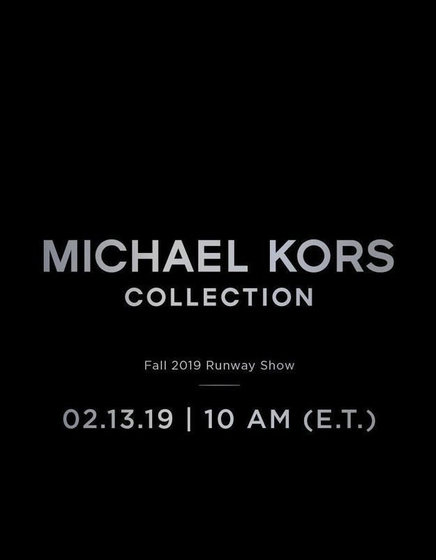 Fashion Week : suivez le défilé Michael Kors en direct à 16h