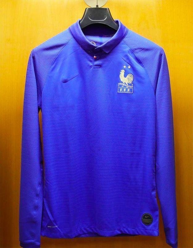 France-Islande : où acheter le maillot centenaire de la FFF avec lequel l'équipe de France joue ce soir ?