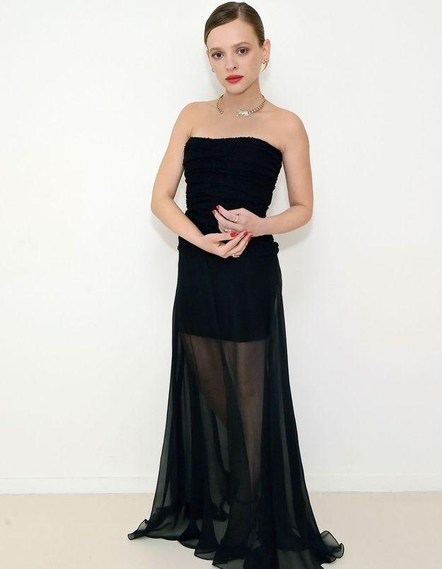 Golden Globes 2021 : Shira Haas (Unorthodox) sublime dans sa robe Chanel