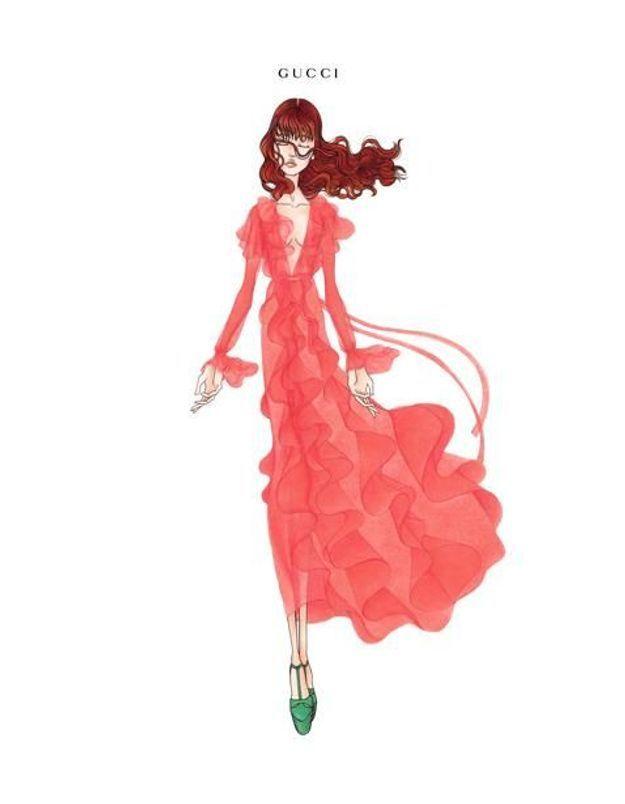 Gucci, habilleur exclusif de Florence Welch pour sa prochaine tournée