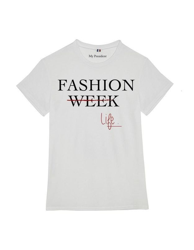 It-pièce : le tee-shirt Fashion Week de My President