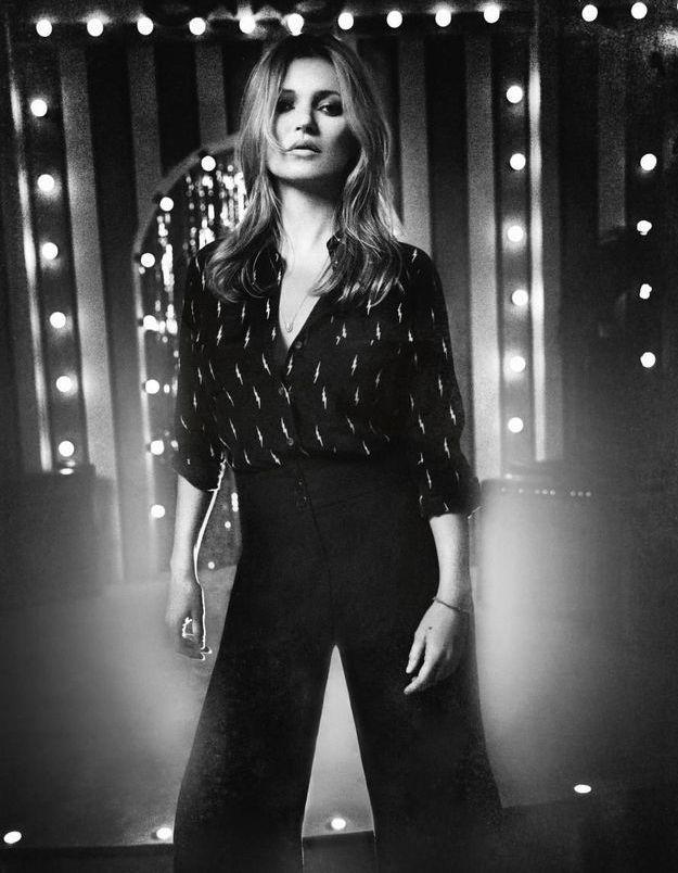 Kate Moss x Equipment : la chemise selon Kate