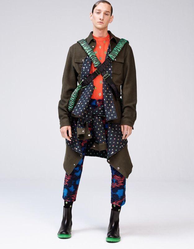 Lookbook Kenzo x H&M