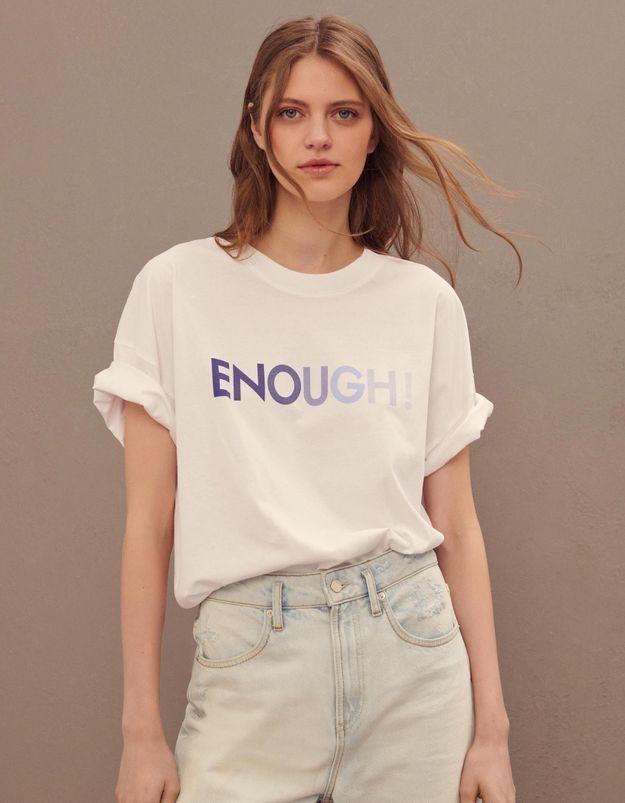 L'instant mode : Ba&sh dévoile un t-shirt solidaire contre la violence faites aux femmes
