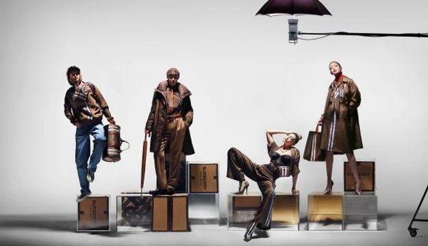 L'instant Mode : Gigi Hadid incarne la nouvelle collection monogramme de Burberry