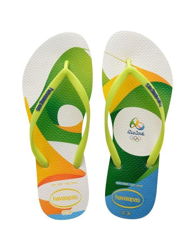Tongs Havainas Slim Rio 2016 Imprimé 1