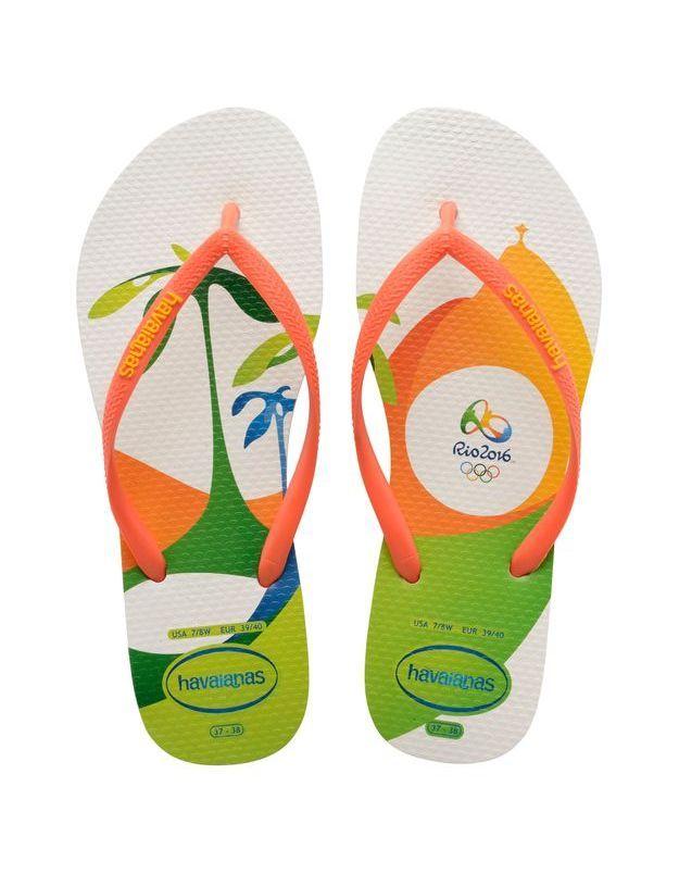 Tongs Havainas Slim Rio 2016 Imprimé 2