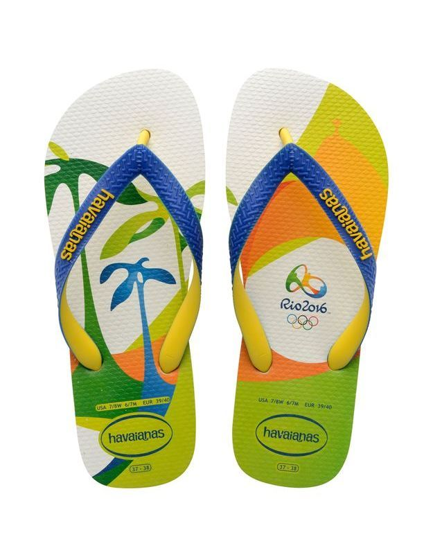 Tongs Havainas Top Rio 2016 Imprimé 1