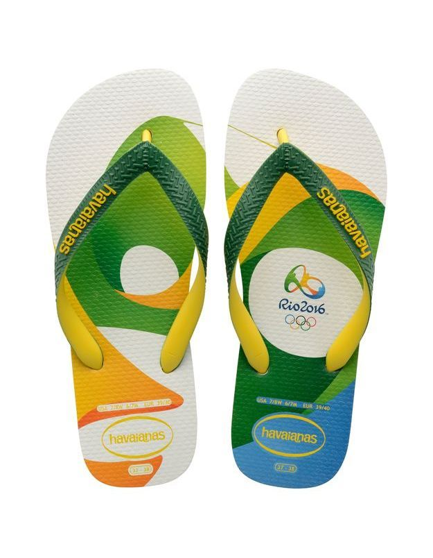 Tongs Havainas Top Rio 2016 Imprimé 2