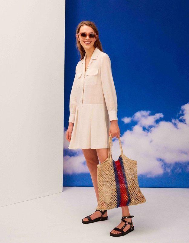 L'instant mode : la capsule « Blue summer » de Claudie Pierlot nous emmène au bord de la mer