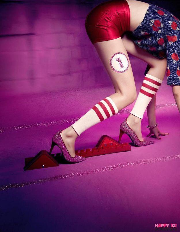 L'instant mode : la course en escarpins pour les 10 ans de Sarenza