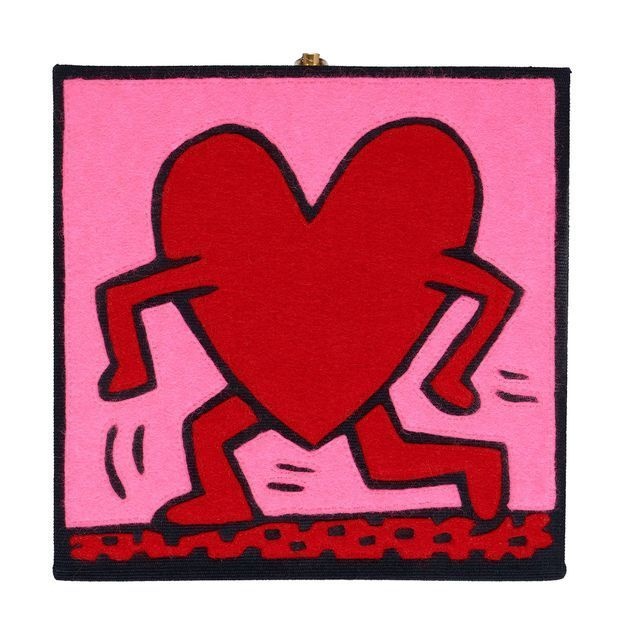 Pochette Olympia Le-Tan x Keith Haring