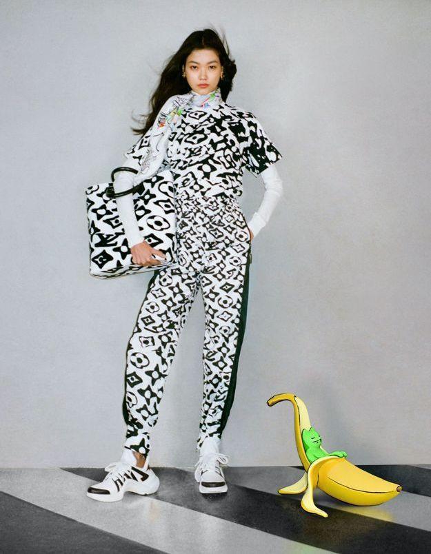 L'instant mode : Louis Vuitton et l'artiste contemporain Urs Fischer réinventent le célèbre monogram