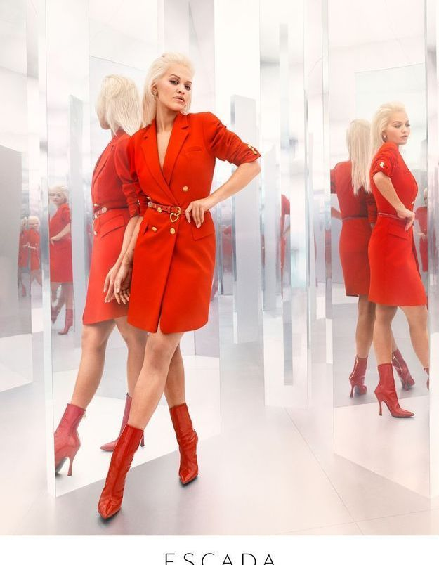 L'Instant Mode : Rita Ora x Escada, une collection explosive qui voit rouge
