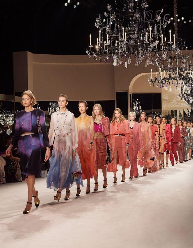 L'univers de Coco Chanel ressuscité pour le défilé des Métiers d'art au Grand Palais