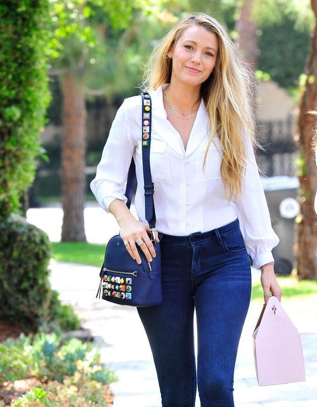 Le jean préféré de Blake Lively vaut moins de 40 €