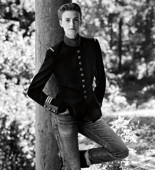 La veste d'officier portée par Jacquetta Wheeler