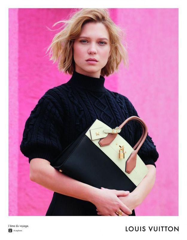 Louis Vuitton présente sa première campagne avec Léa Seydoux