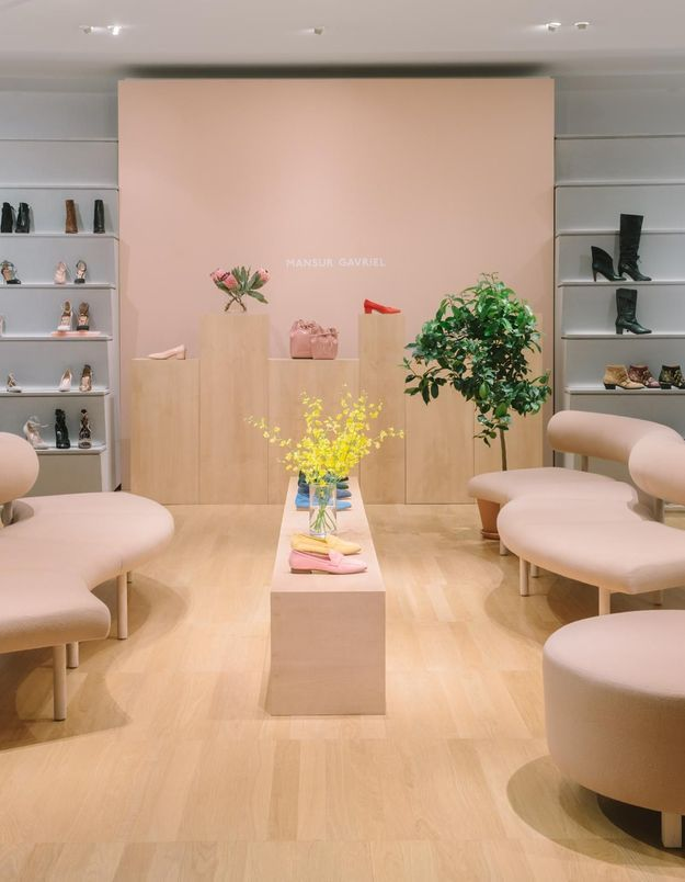Mansur Gavriel ouvre son premier pop-up store à Paris