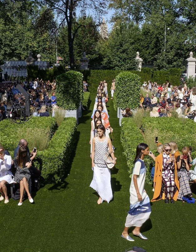 New York Fashion week : la garden party de Tory Burch