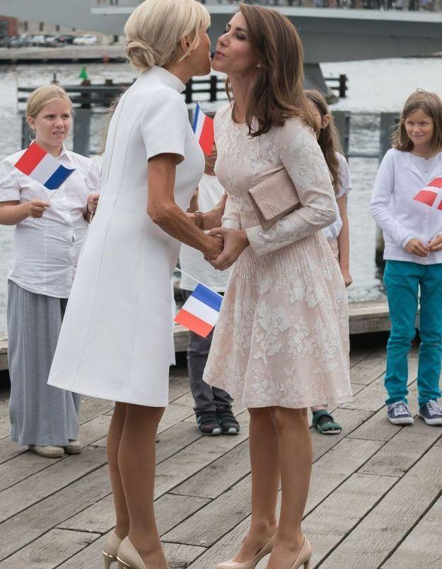 Brigitte Macron au Danemark