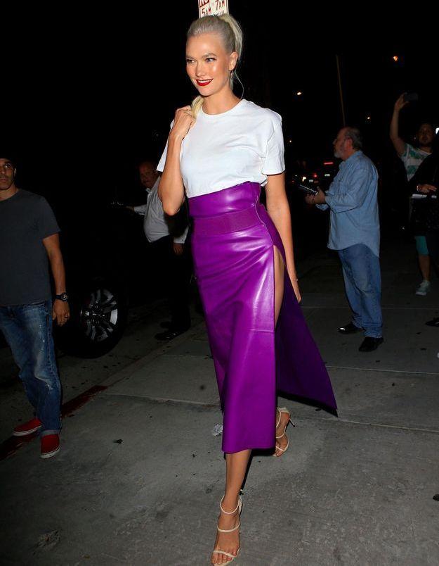 Pourquoi elle est bien : le look de soirée de Karlie Kloss