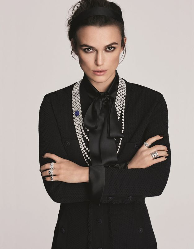 Keira Knigthley pour Coco Crush de Chanel
