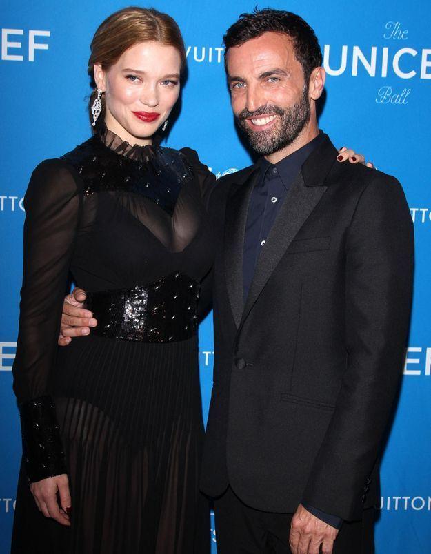 #PrêtàLiker : la première sortie de Léa Seydoux en tant qu'égérie Louis Vuitton