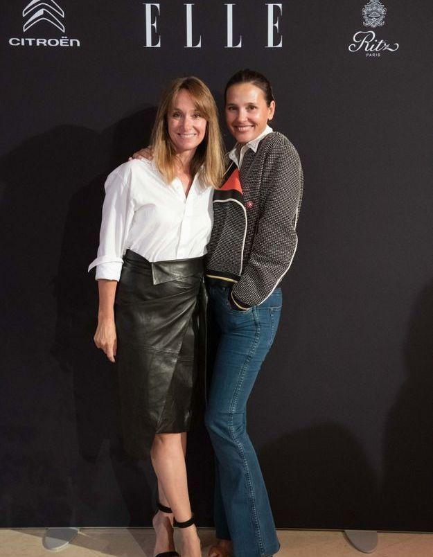 Erin Doherty (ELLE) et Virginie Ledoyen