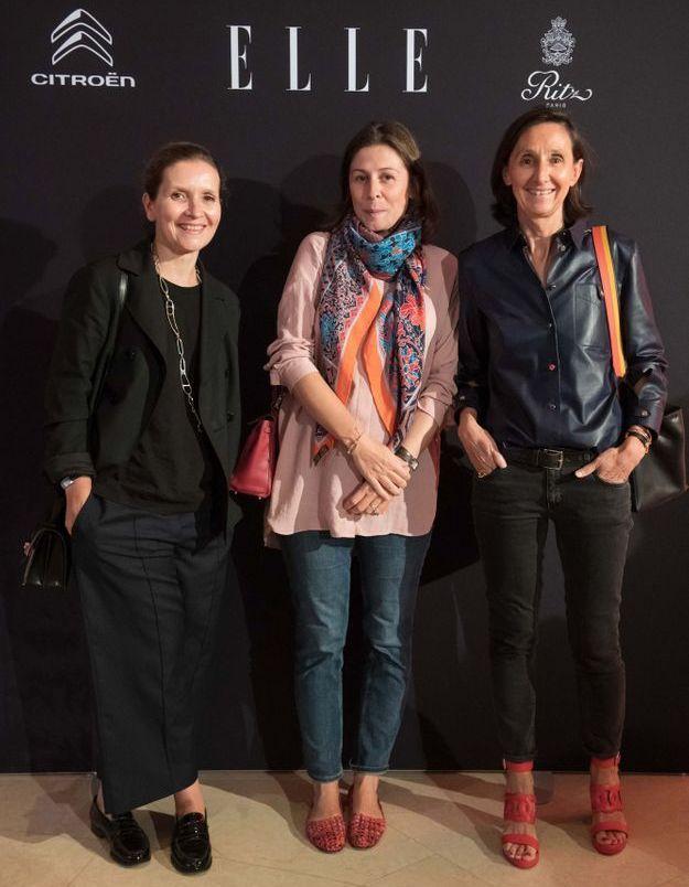 Caroline Schwartz-Mailhé, Clémentine Chevalier-Moquet et Sophie Seibel-Traonouil (Hermès)