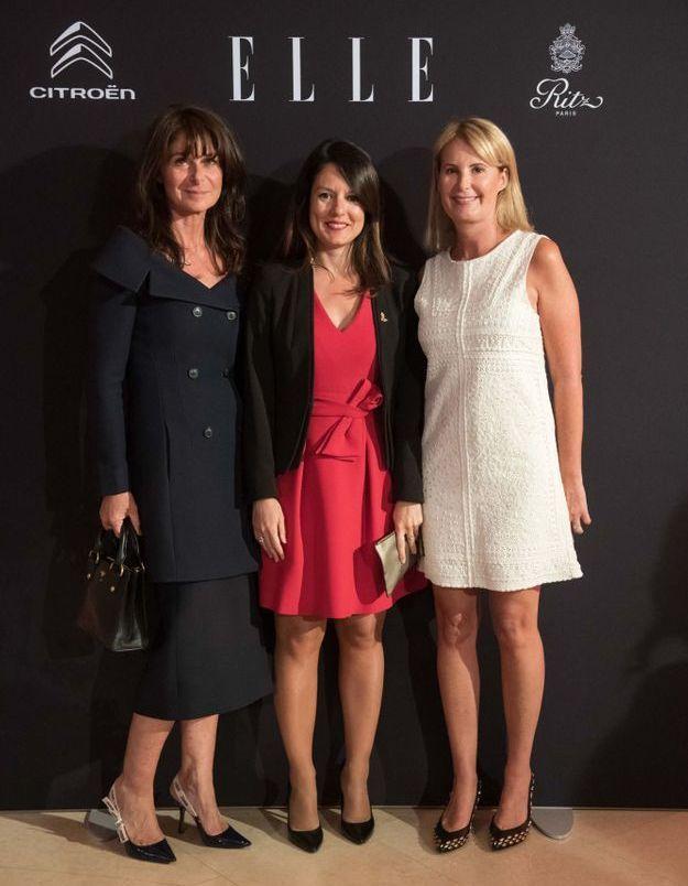 Caroline Pois (ELLE), Mélanie Hubert (Ritz) et Stéphanie Videau Aphatie (ELLE)