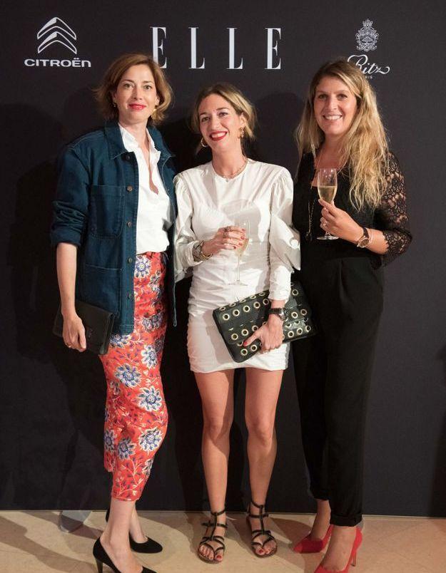 Danièle Gerkens, Adèle Bréau et Stéphanie Kohen Moyal