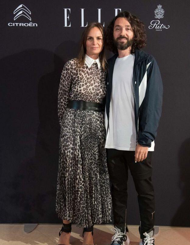 Benjamin Cercio (Louis Vuitton) et Brune de Margerie (ELLE)