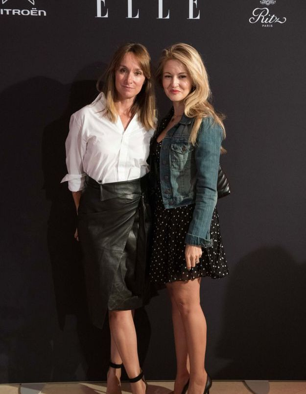 Erin Doherty (ELLE) et Sabrina Herlory Rouget (MAC)