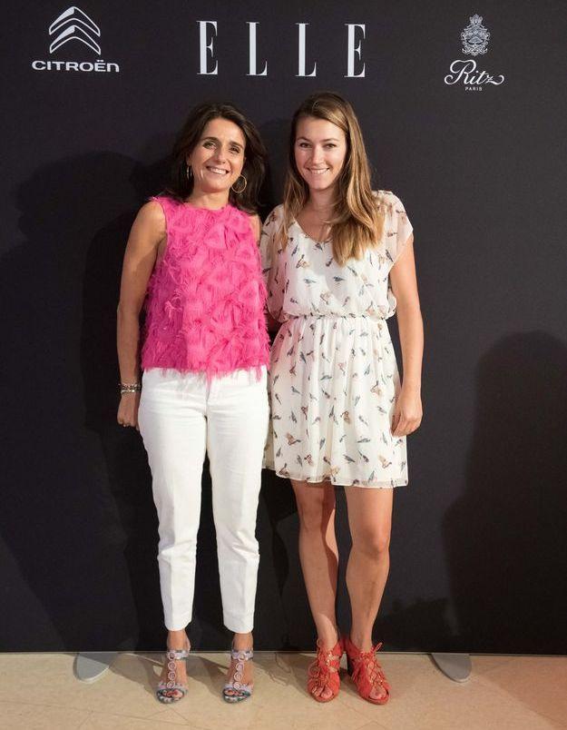 Anne Cécile Sarfati (ELLE) et Morgane L'Hostis (Pop my day)