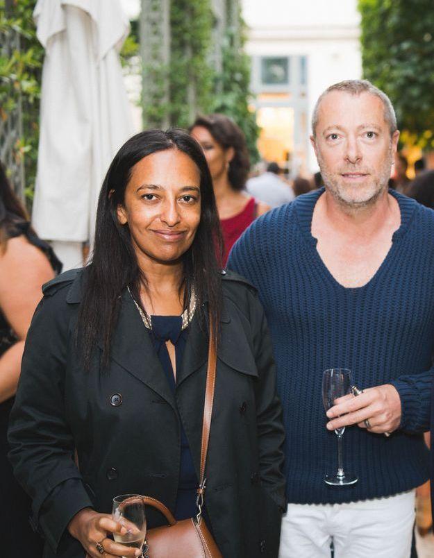 Sylvia Jorif (ELLE) et Jean François Soler (Alexandre Vauthier)