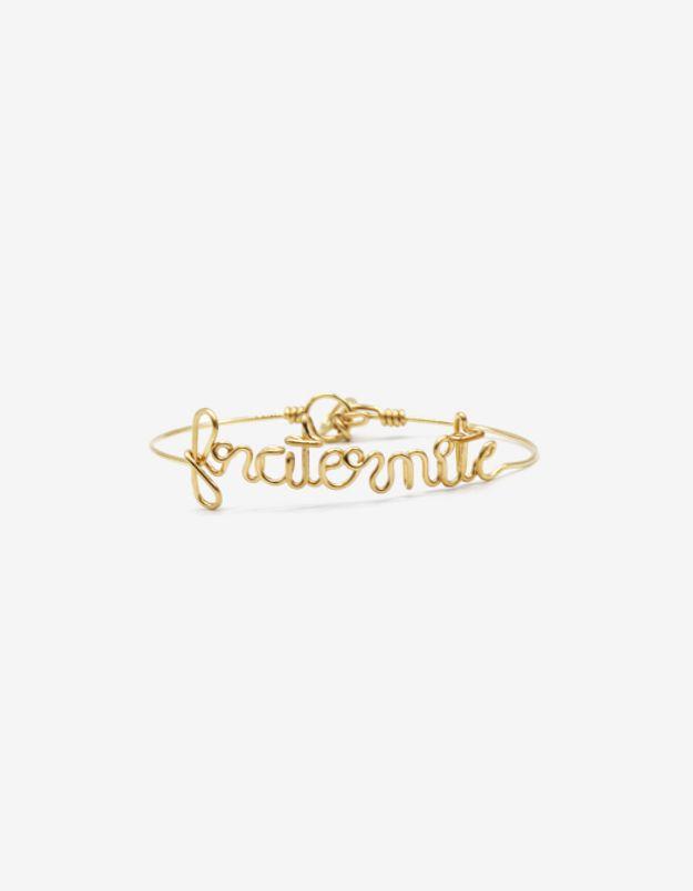 Bracelet Fraternité en or