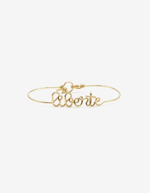 Bracelet Liberté en or