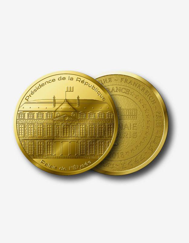 Médaille de collection Palais de l'Élysée x Monnaie de Paris