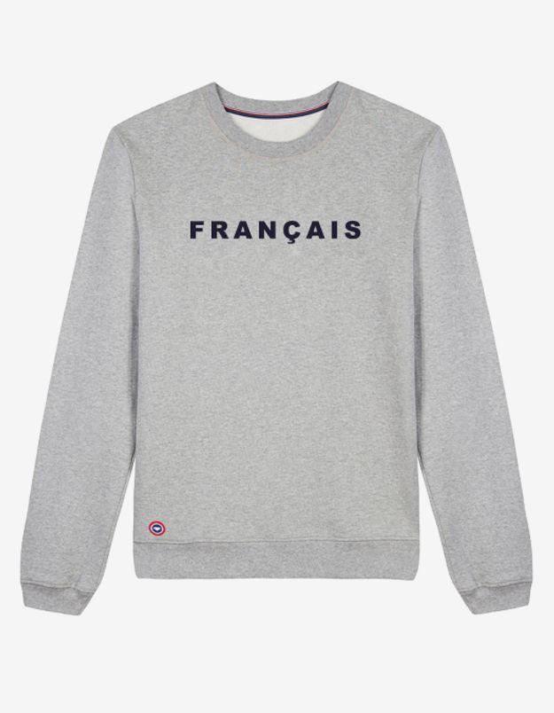Sweat-shirt Francais par Le Slip Français