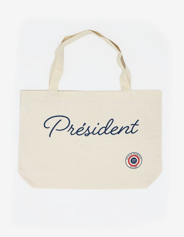 Tote bag Président