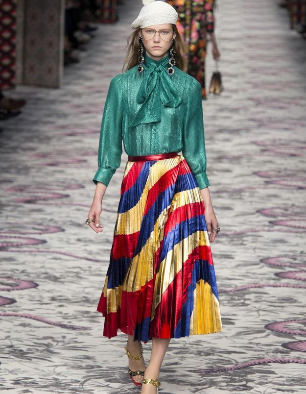 Tendance : la jupe plissée prend le bon pli