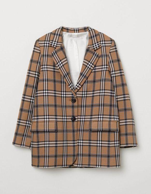 Un blazer écossais