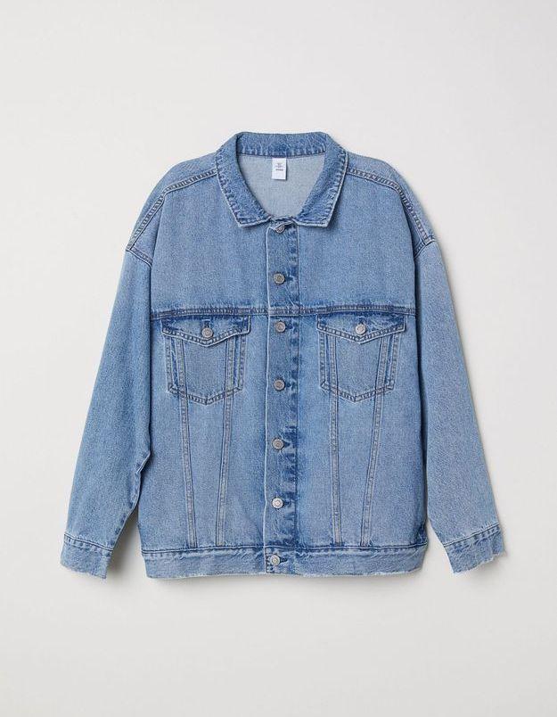 Un classique, la veste en jean