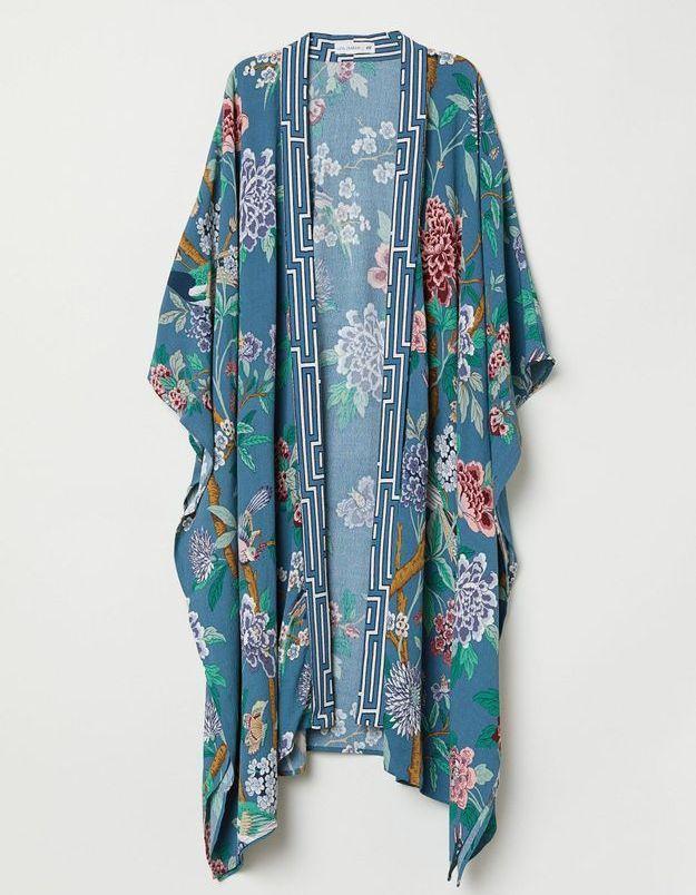 Un kimono coloré