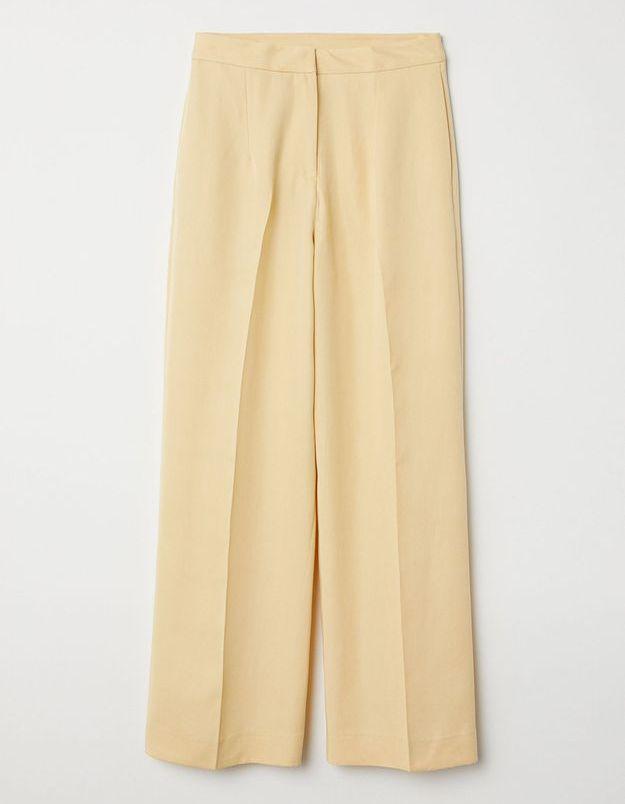 Un pantalon vintage ample