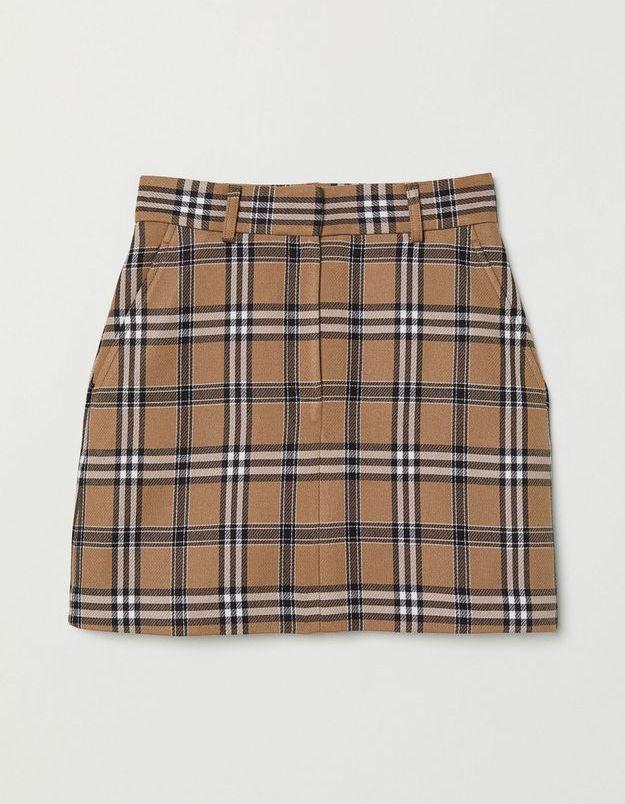 Un petite jupe écossaise