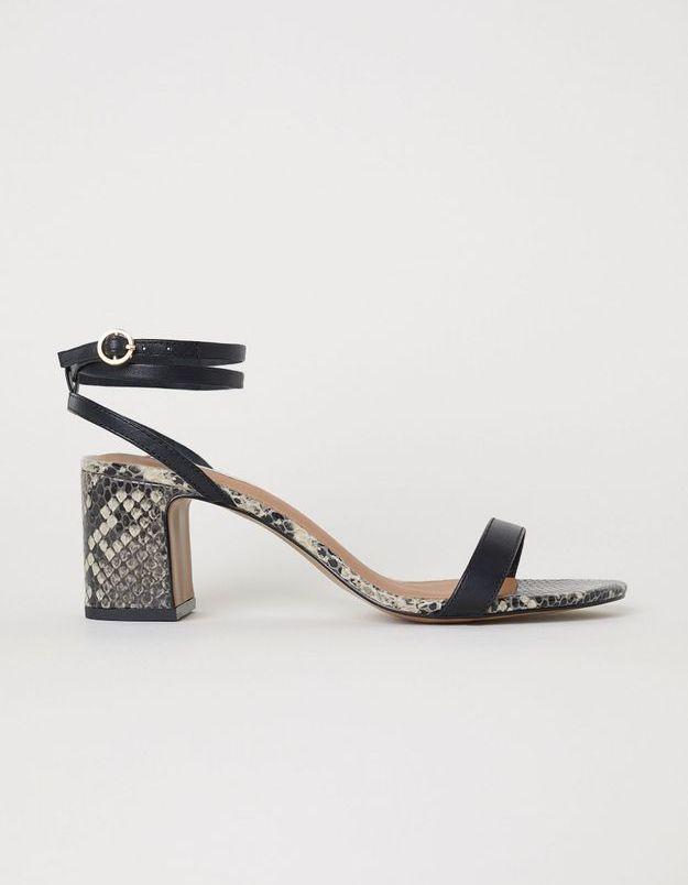 Une paire de sandales sexy